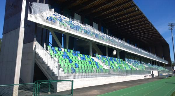 The new stand has been designed to cope with Rovaniemi's extreme climate