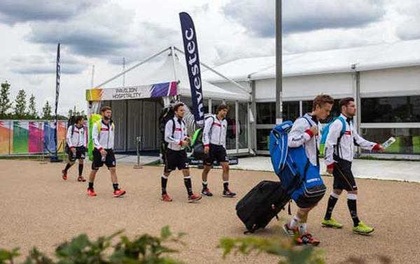 The EuroHockey tournament took over London's Olympic Park for 10 days