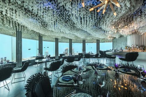 Subsix is an underwater venue offering a spectacular setting for a variety of events