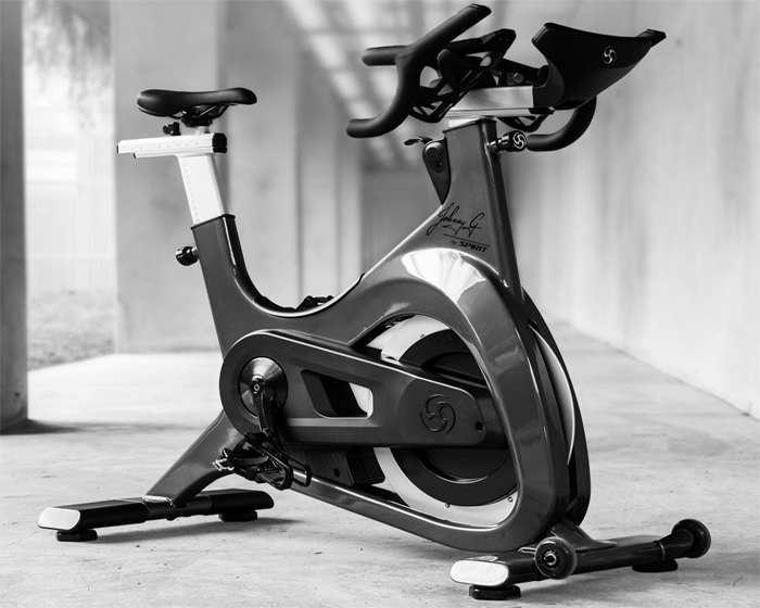 Johnny G by Spirit is designed to offer a premium indoor cycling solution for riders of all abilities