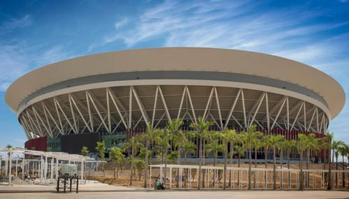 World's 'largest indoor arena' now open in Manila, Philippines