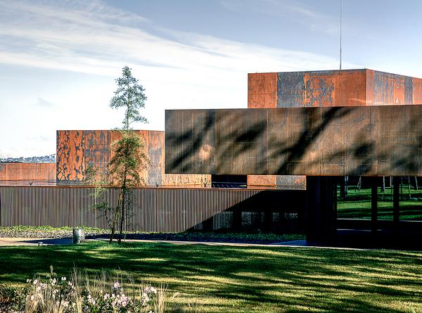 RCR recently unveiled the steel-clad Soulages Museum in Rodez, in France