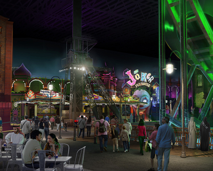 TAA is working on the planned Warner Bros World park in Abu Dhabi