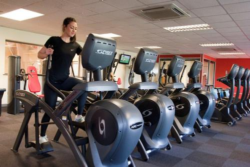 As part of Cybex's full service offering, GYM MK also received marketing support for the design, production and installation of onsite branding and artwork