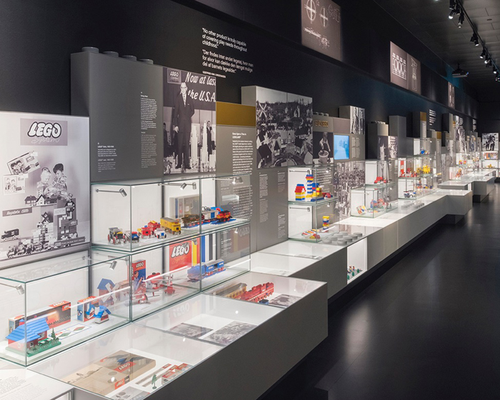 Kvorning's new exhibition takes LEGO fans on a journey through the iconic toy's history