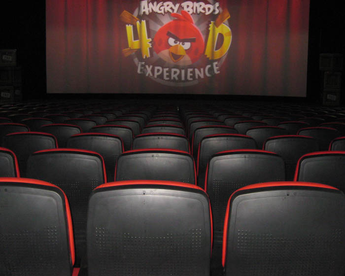 Technological marvel powers Angry Birds theatre projection