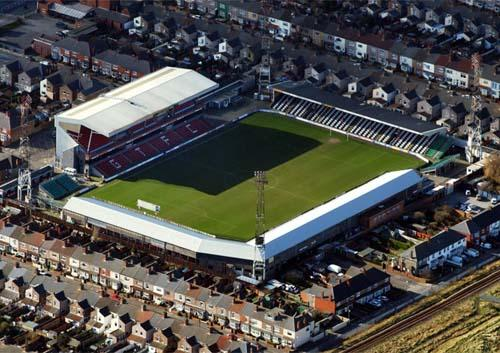 Grimsby Town FC seeking a move from its Blundell Park site
