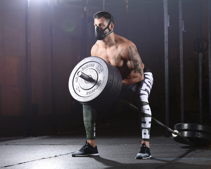 The Phantom Training Mask trains and strengthens the respiratory system