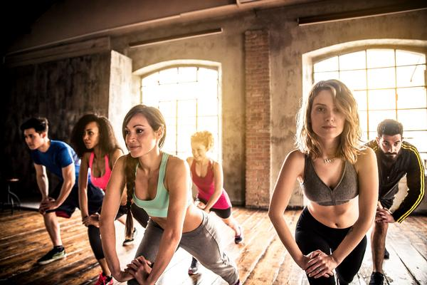 Women dominate small personal training classes at 54 per cent / shutterstock