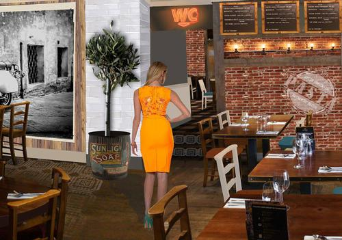 An artist impression of the revamped Scalinis restaurant in Jesmond / The Malhotra Group