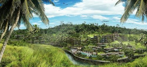 The property's guestrooms and villas will offer panoramic views and scenic riverfront experiences, in addition to access to Ubud's attractions / Capella Hotel Group