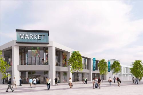 The mixed-use scheme is slated for completion in 2019 / Warrington Borough Council