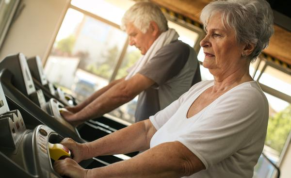 For seniors, 150 minutes of moderate-intensity activity per week is recommended / shutterstock