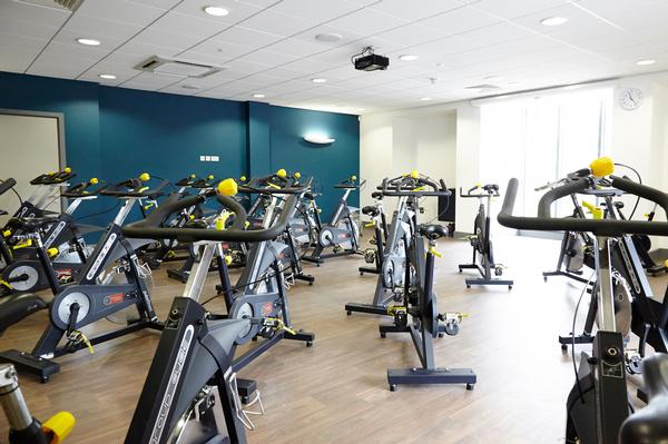 AFTER: The centre's fitness suite was relocated and expanded to 100 stations, with Pulse supplying the equipment