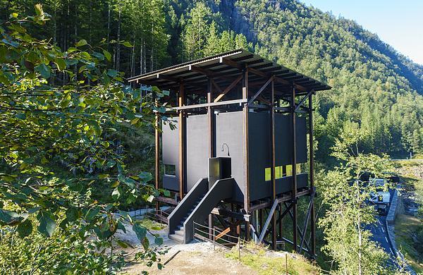 The Allmannajuvet zinc mine museum opened last year
