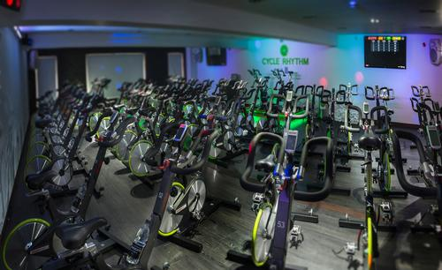 The cycling studio is first UK facility to be kitted out with the new Keiser M3i Bike