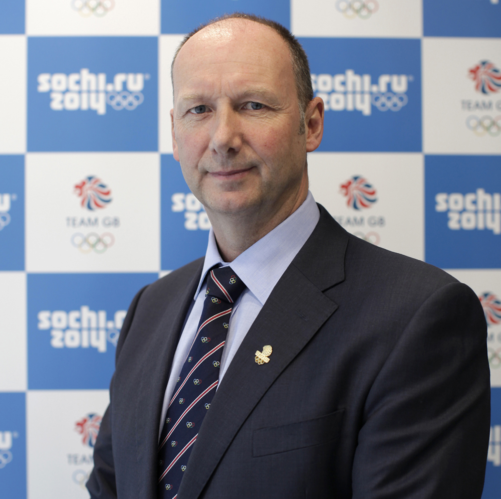 Mike Hay, the new chef de mission for Team GB