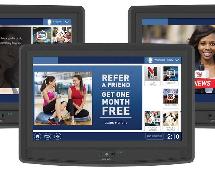 MYE launches cardio TV with ClubCom content