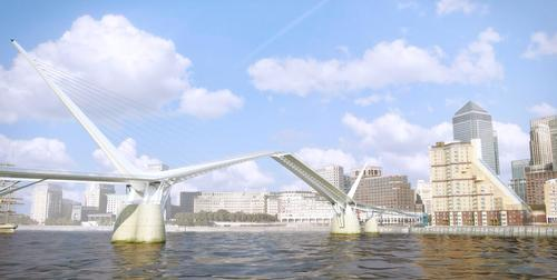 The construction of the bridge is expected to cost in excess of £88m / Keyframe Visuals