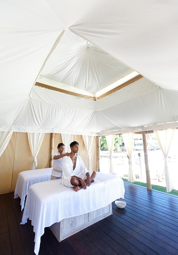Pop-up tents help Karma fit in more guests when its main spas are at full capacity & Spa Business - Brief encounters