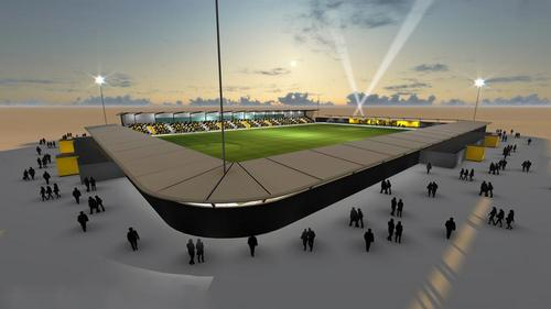 Boston United will gain a new 4,000-seat community stadium as part of a £100m mixed-use project