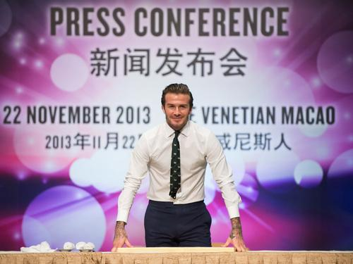 Beckham signs deal with major global property developer