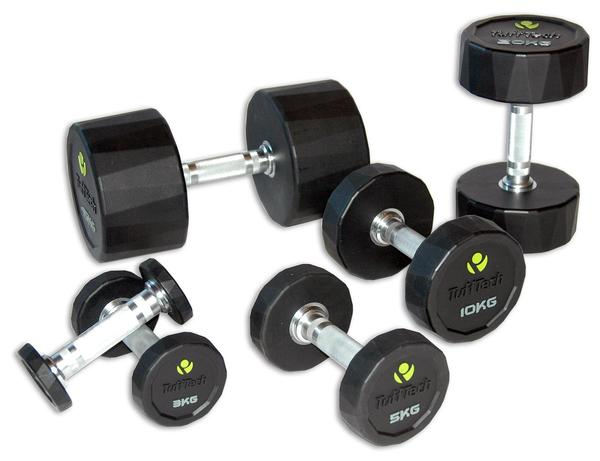 New PU dumbbells from iRobic