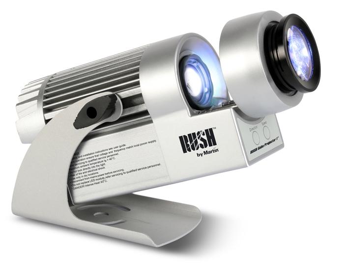 Rush projector focuses on speedy use