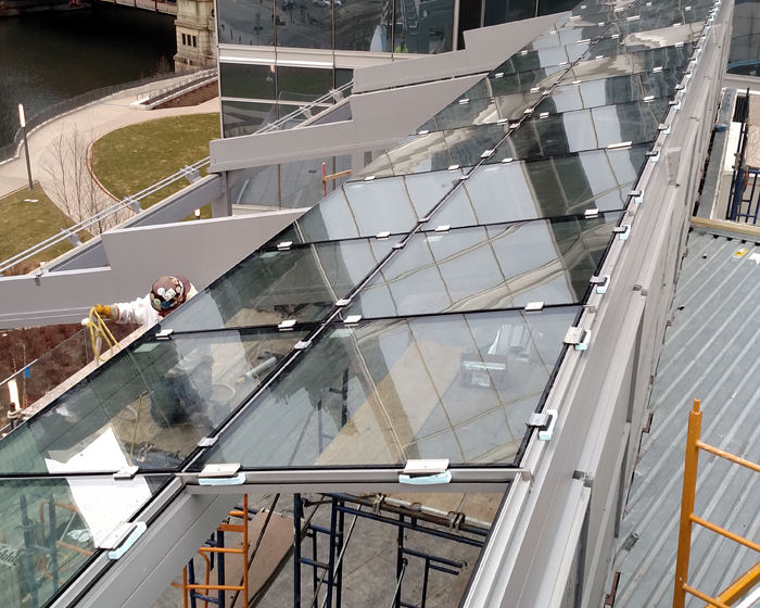 OpenAire designs retractable roof for River Point restaurant