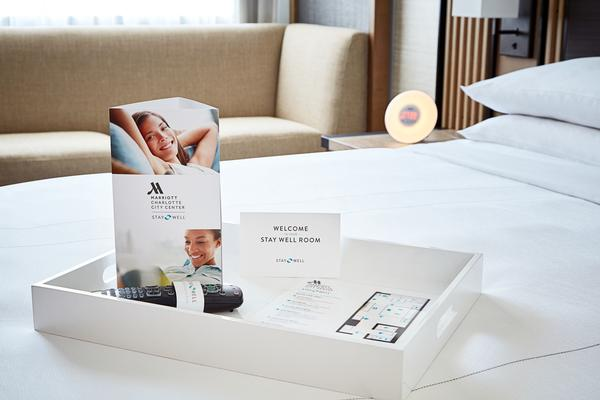 Marriott charges US$20-US$60 extra for its wellness rooms