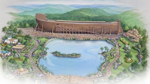 number of Bible stories The park will relive Bible stories in an 'entertaining, educational and immersive way' / The Ark Encounter