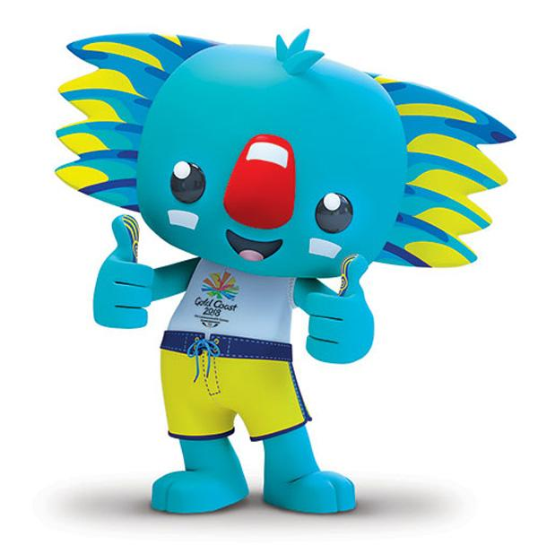 Borobi, the official mascot for the Gold Coast 2018 Commonwealth Games
