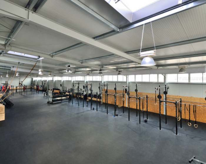 everroll installed at Berlin's AXT CrossFit fitness centre
