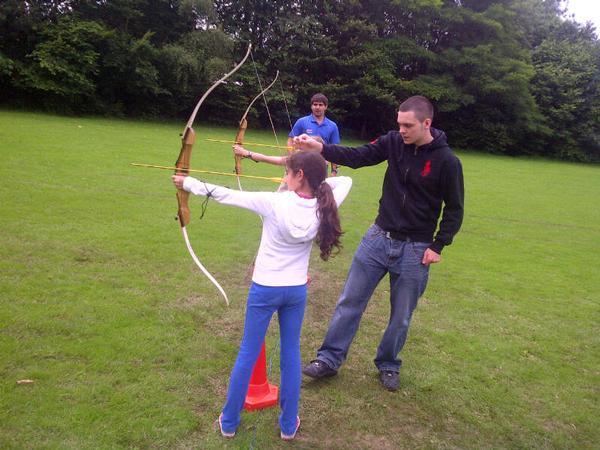 The outdoor activities help build key life skills