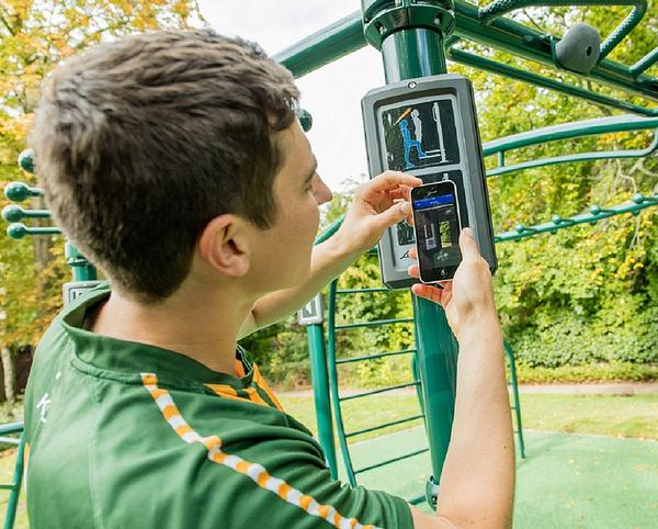 The wider community, who can scan QR codes to access exercise tutorial videos on the LFConnect app