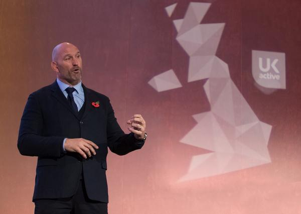 Lawrence Dallaglio was a speaker at the 2017 ukactive Summit