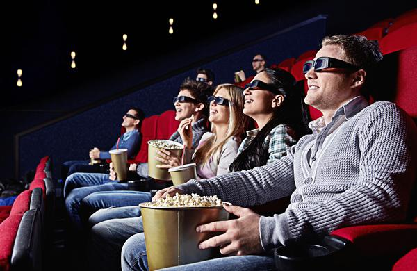 It all adds up: Regular gym visits can bring great rewards, such as free cinema tickets / shutterstock