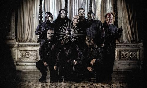Well known for their on-stage theatrics and outfits, the horror concept should be right up the band's alley / Slipknot