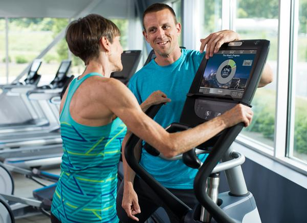 Precor's automatic updates
