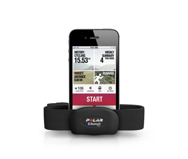 Polar iPhone app