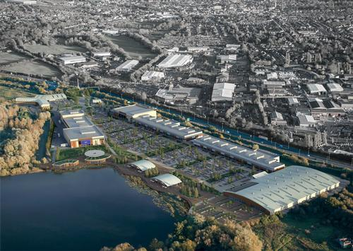 Rushden Lakes development takes further step forward as landscape architects appointed