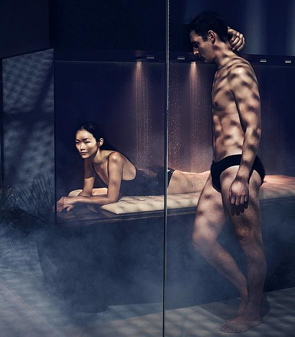 The LifeSpa concept is a modular system for professional and home use