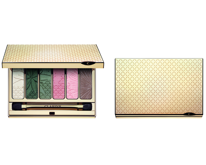 Clarins make-up collection offers Garden Escape