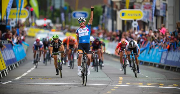 Stoke hosted two high-profile elite cycling events during June the Aviva Women's Tour and the Pearl Izumi Tour Series