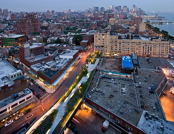 Section one of the High Line
