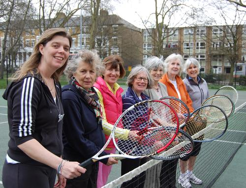 Islington offers free tennis to over-60s