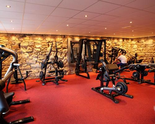 Balbirnie's new basement gym