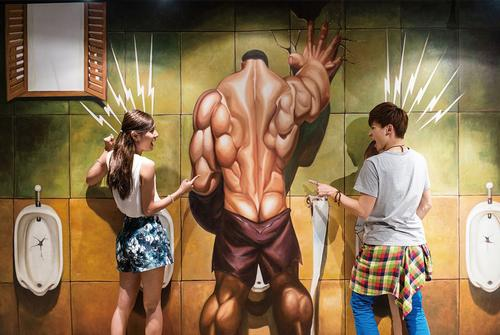 Hong Kong's first 3D museum offers optical illusions
