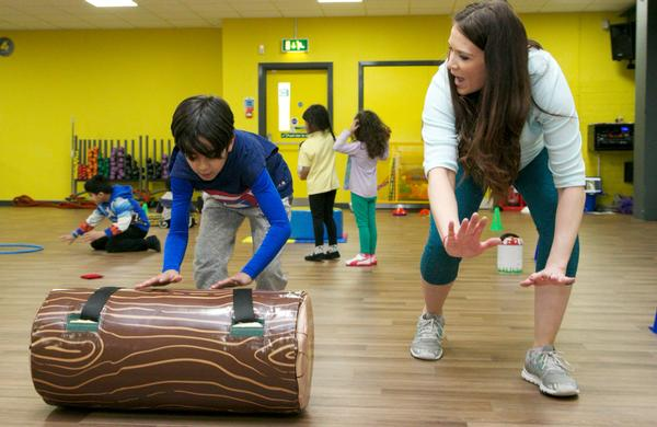 Xercise4Kids is promoting inter-generational activity