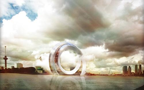 Dutch Windwheel concept combines clean, silent energy with visitor attraction